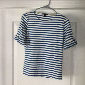 J Crew extra small striped top